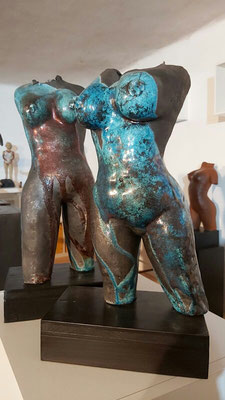 Raku-Skulpturen