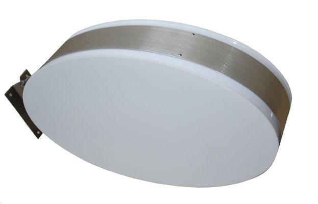 Leuchtkasten-Ausleger oval
