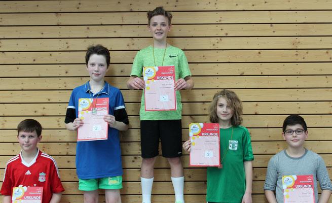Jungen AK 1 mit Ludwig Kahlbaum, Sieger der Silbermedaille