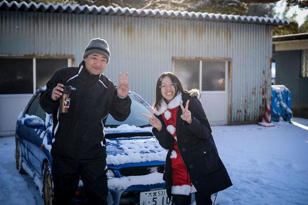 リーダー後藤健司(埼玉)、HOYO(青森)photo by bozzo