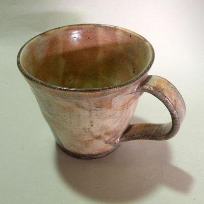 手作り粉引マグカップ