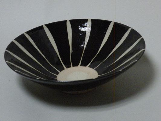 黒十草煮物鉢