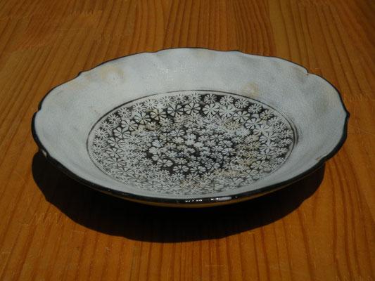 手作り三島鉢