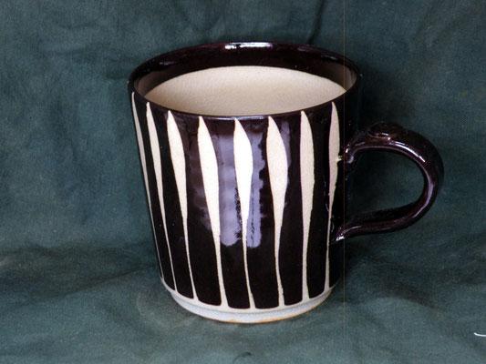 黒十草切立マグカップ