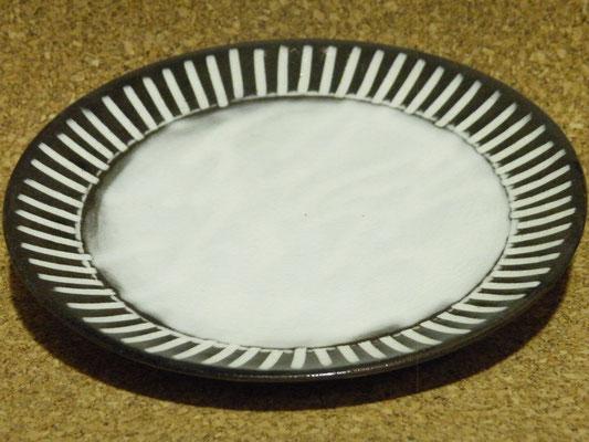 角削六寸皿