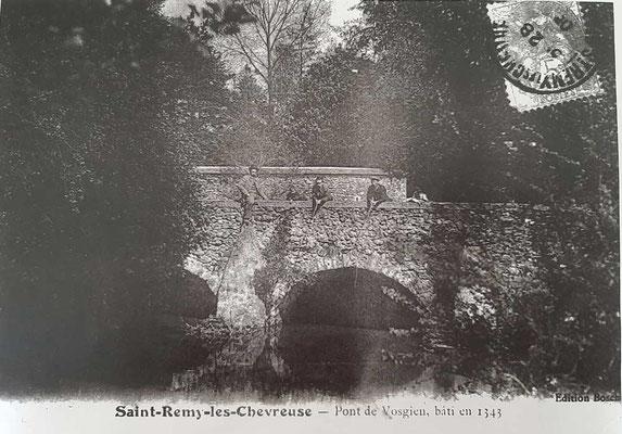 Le Pont de Vaugien, bâti en 1343
