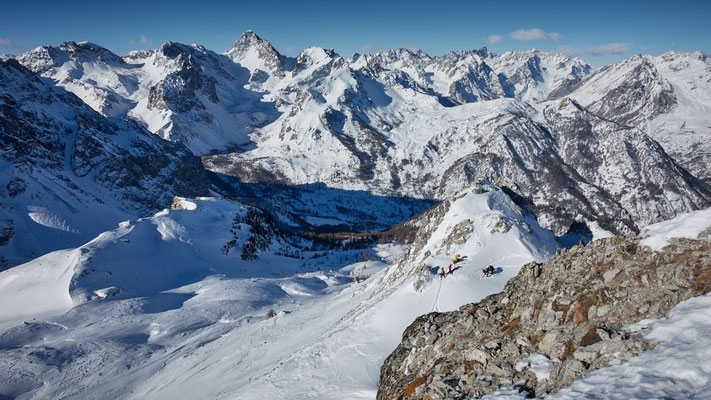 Bric Boscasso Gipfelpanorama