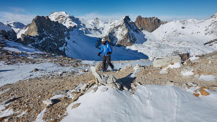 Monte Chersogno, Colle erreicht