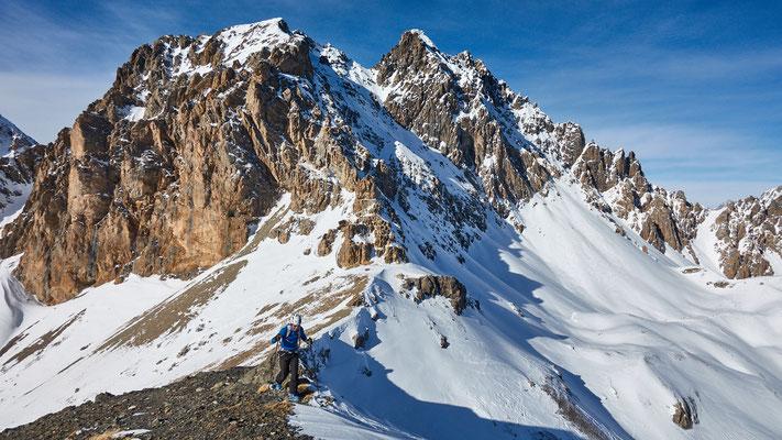 am Grat zum Monte Virraysse