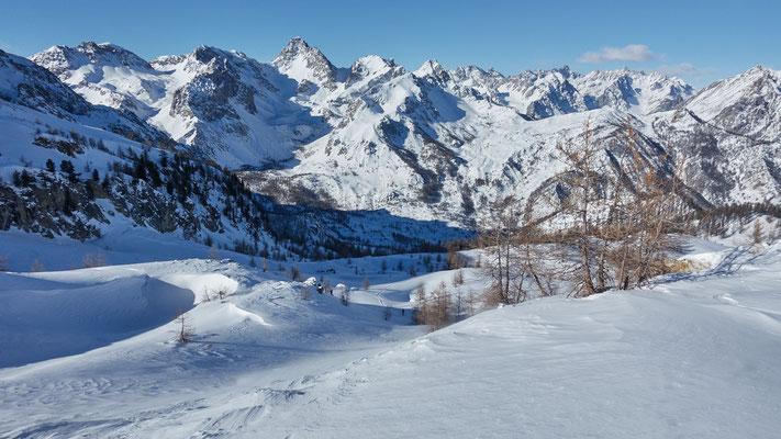 Bric Boscasso, traumhaftes Skitourengelände