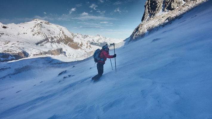 Monte Chersogno. Vom Winde verweht