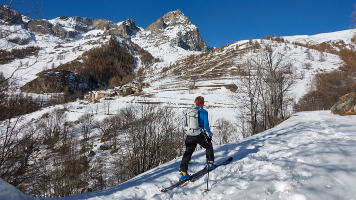 Start zum Monte Chersogno