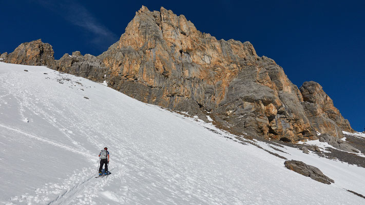 Anstieg zum Col du Sautron