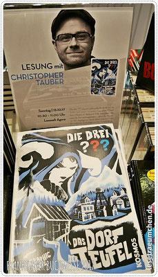 """Und auf zum nächsten Highlight: Christopher Tauber, der Zeichner der beiden Graphic Novels von """"Die drei ???"""" ..."""