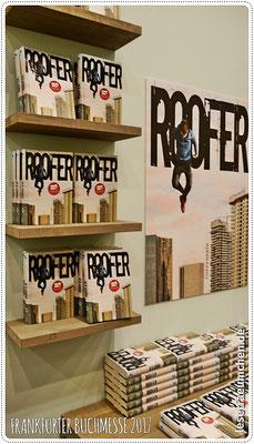 """""""Roofer"""" von Jutta Wilke. Besprechung des packenden Jugendbuchs hier auf dem Blog."""