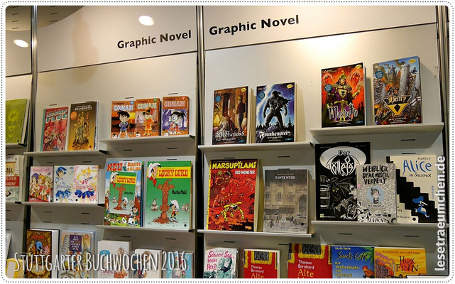 "Sonderbereich ""Graphic Novels, Comics & Mangas"""