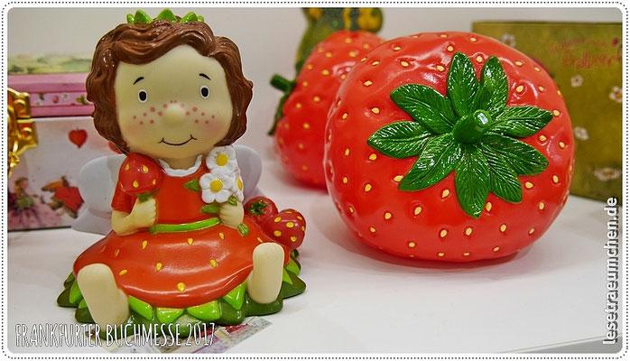 ... und eine recht große Erdbeerinchen Erdbeerfee nach den Geschichten von Stefanie Dahle ...