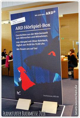 Alle Jahre wieder: die legendäre HörSpiel-Box mit Oliver Rohrbeck als Coach.