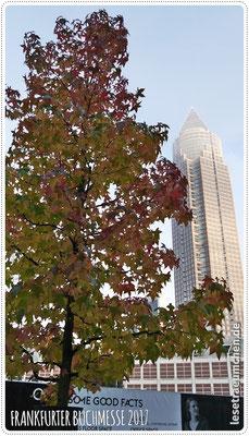 Sonntag Morgen, Herbststimmung mit Messeturm