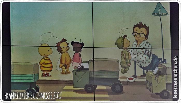 ... und hier eines ihrer Werke aus dem neuen Bommel-Band.