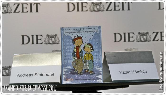 ... moderiert von Katrin Hörnlein, die interessante Fragen stellte, aber ...