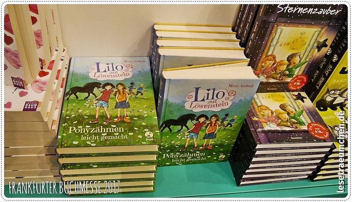 """Und hier eine supersüße und lustige Reihe von der lieben Mara Andeck: """"Lilo auf Löwenstein"""". Dazu bald die Besprechung hier auf dem Blog."""