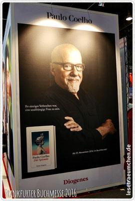 Paulo Coelho. Leider nicht live.