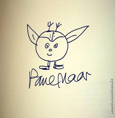 """Autogramm in """"Der Galimat und ich"""" von Paul Maar. 2015."""