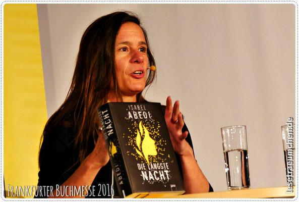 ... Isabel Abedi. Kinder- und Jugendbuchautorin, hier ...
