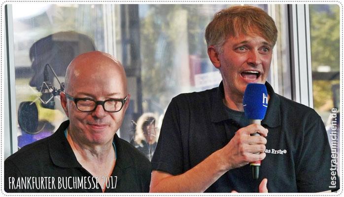 ... dieser beiden: Oliver Rohrbeck und Klaus Krückemeyer (von hr2)!