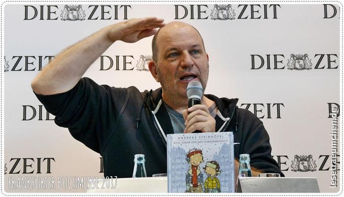 Andreas Steinhöfel in Action beim ...