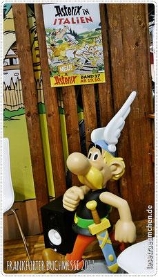 ... und eine kleine Ausgabe von Asterix.