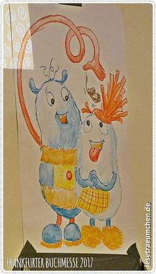 ... Wilhelm und Wilma zeichnete.