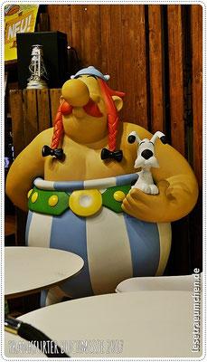 ... ebenso wie Obelix ...