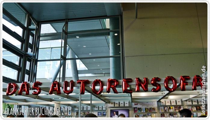 Das Autorensofa.