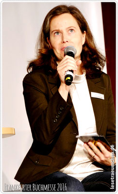 Susanne Baumann vom Arena-Verlag ...