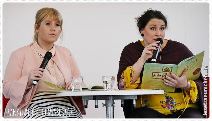 ... Maite Kelly und Britta Sabbag ...