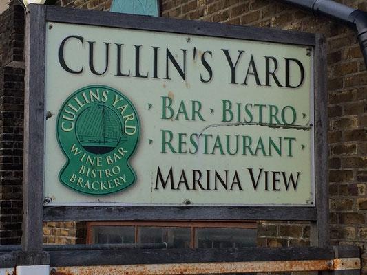 Cullins Yard im Hafen von Dover