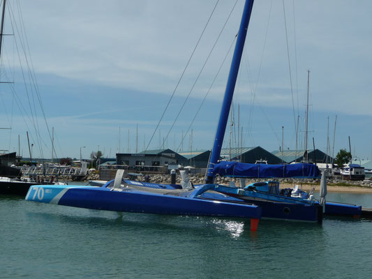 Interessante Nachbarn ( Trimaran Team Concise )