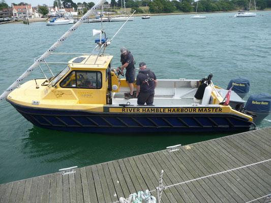 Die Harbour Master kommen zu Besuch