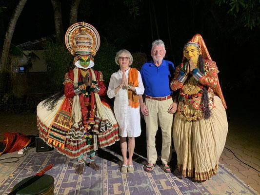 Foto mit Tanzgruppe