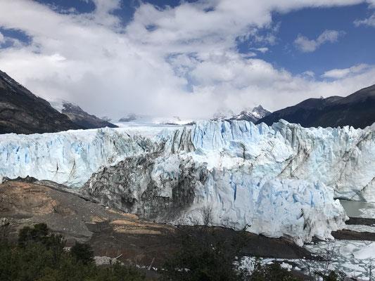 Der Gletscher Perito Morenio