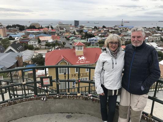 Punta Arenas das zentrum in Süd-Chile