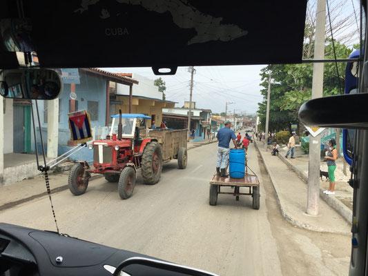 Der normale Stadtverkehr