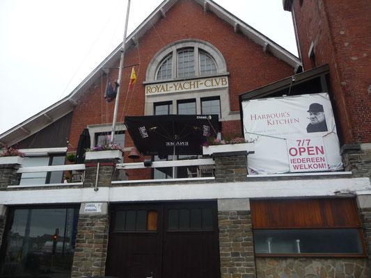 Das Clubhaus des RYCO Oostende
