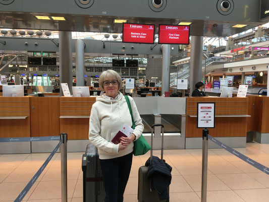 Airport Hamburg am 13.2