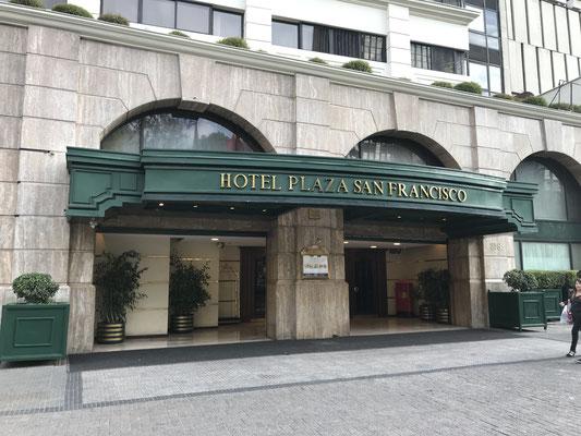 Unser Hotel in Santiago