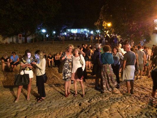 Abends auf der Piste in Trinidad