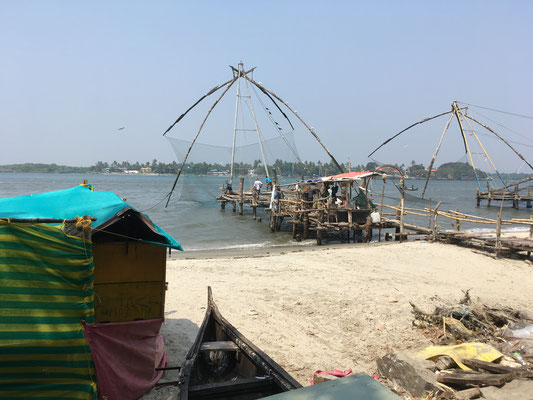 Traditioneller Fischfang