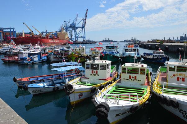 Eine wunderbare Hafenstadt am Pazifik